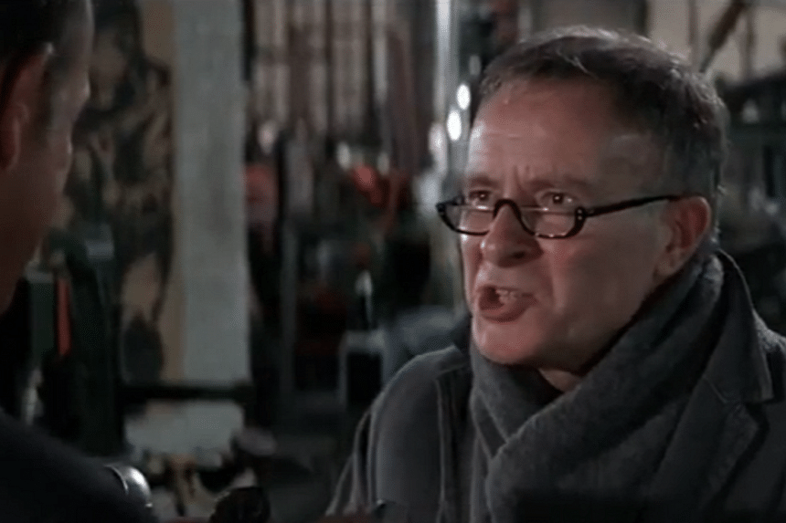 Screengrab of Alec McCowen playing James Bond's ever-inventive outfitter, Q. McCowen died on Monday (Feb 6) at his home in London.