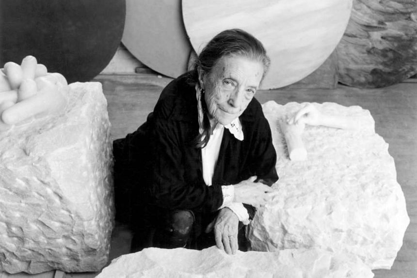 The works of French- American artist Louise Bourgeois (above), who died in 2010, will be jointly displayed with those of Yayoi Kusama by Sotheby's this month.