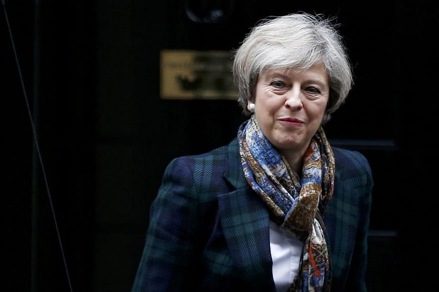 British Prime Minister Theresa May said that an independent Scotland would not be part of the European Union.