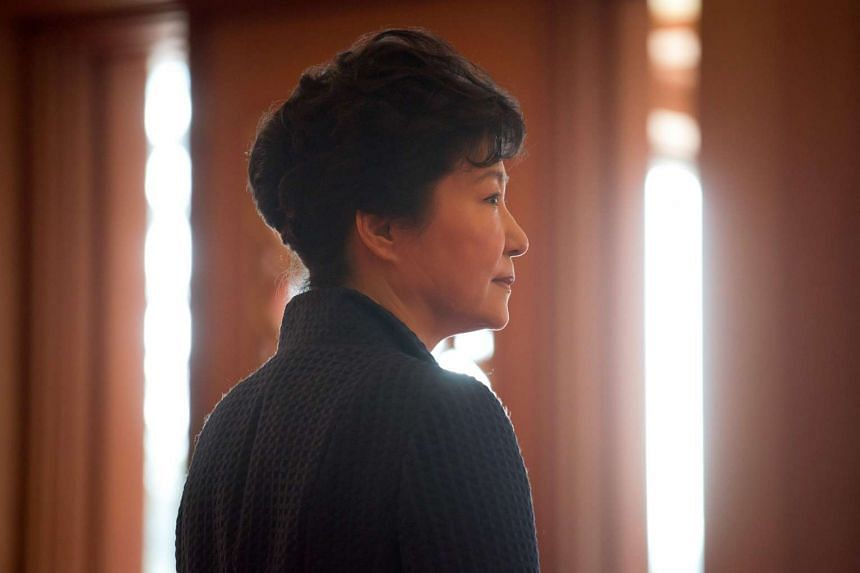 South Korean President Park Geun Hye (above) and former aides were sued for drafting a cultural blacklist trying to silence artists critical of the administration.
