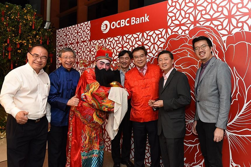 (From left) Mr Edmund Long, managing director of Five Aluminium Boat and Engineering; Mr Linus Goh, head of global commercial banking at OCBC; Mr Teo Hong Lim, executive chairman and chief executive officer at Roxy-Pacific Holdings; Mr Samuel Tsien,