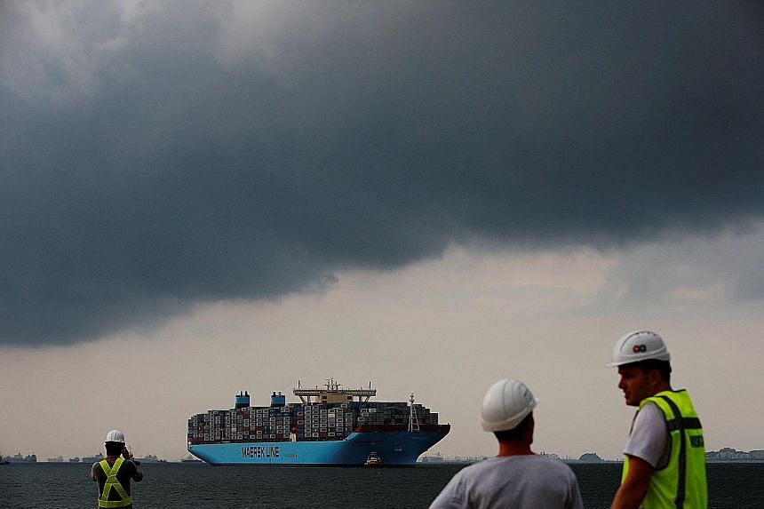 Maersk, which has a fleet of more than 600 ships, says it plans to beef up its transport and logistics operations while creating a separate energy division.