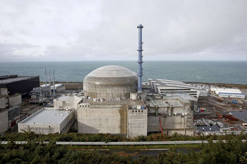An explosion occurred at the Flamanville nuclear plant (pictured) in France on Feb 9, 2017.