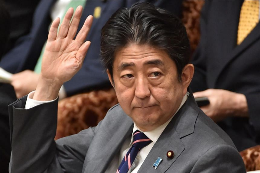 Japanese PM Shinzo Abe is heading to Washington for a meeting with US President Donald Trump on Feb 9, 2017.
