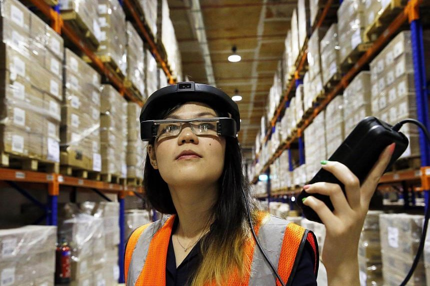 Workers at ST Logistic are using augmented reality glasses to navigate the warehouse. Roadmaps for industries with good growth prospects will help companies upgrade their capabilities to seize new opportunities and create good jobs.