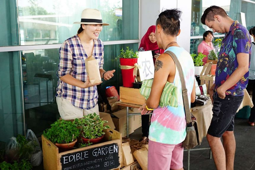 EarthFest, which is in its second edition, features 70 stalls at Marina Barrage on Sunday (Feb 12).