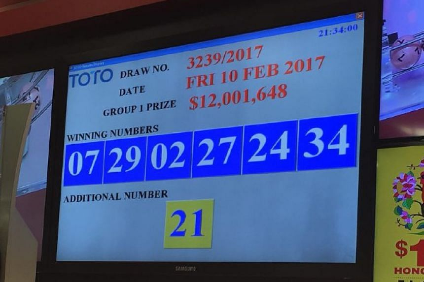 Toto Hongbao draw: 4 lucky winners share $12 million