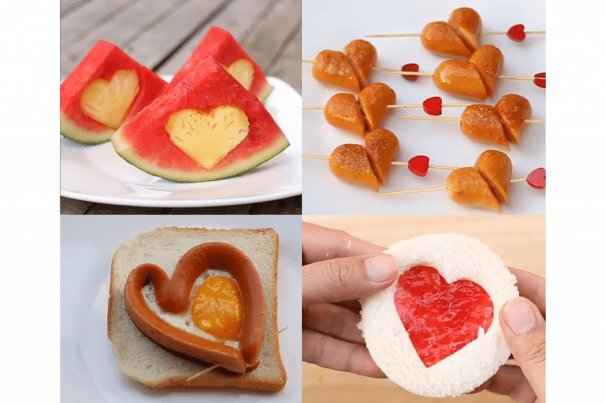 Easy, quick ways to make Valentine's day-themed finger food.