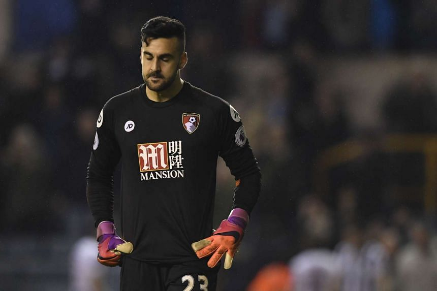 Bournemouth's Adam Federici has been ruled out for the rest of the season after undergoing surgery on damaged cartilage in his knee.