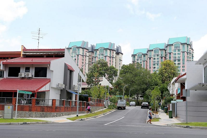 The amendment to the Planning Act makes it illegal to rent out private homes on a short-term basis. In some estates, consensus on short-term leasing is not clear-cut. In areas like the Chestnut neighbourhood (above), there are residents on both sides