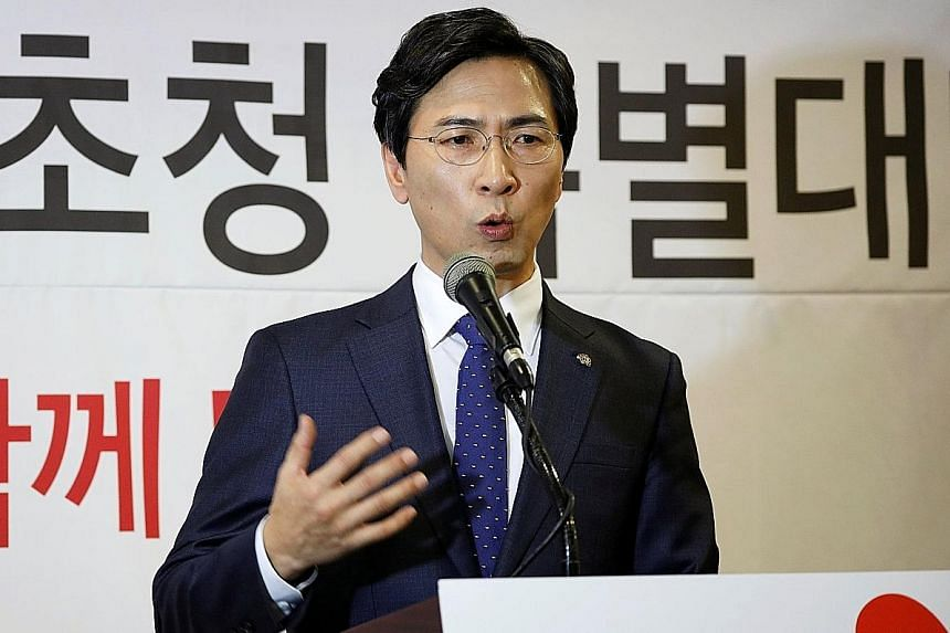 "While Mr An is picking up support from older voters, he has also courted younger ones. Supporters have nicknamed him the ""EXO of South Chungcheong"", after a popular K-pop band."