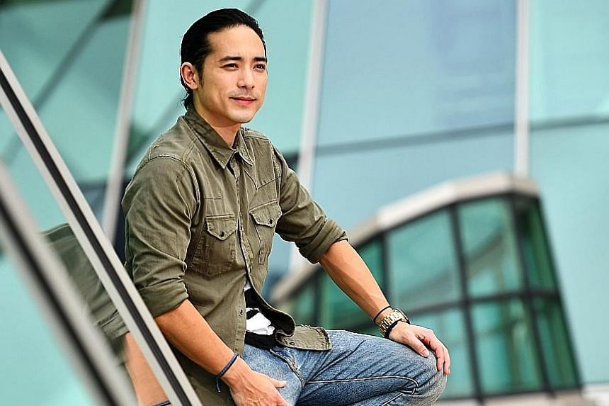 Alex Lam's first love is music, but he likes the exposure that acting gives him.