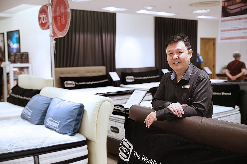 Mr Toh, one of John Little's longest-serving staff, now works at the Raffles City branch of Robinsons department store, which is under the same management group. With 35 years of service in John Little, he has many fond memories there, among which ar