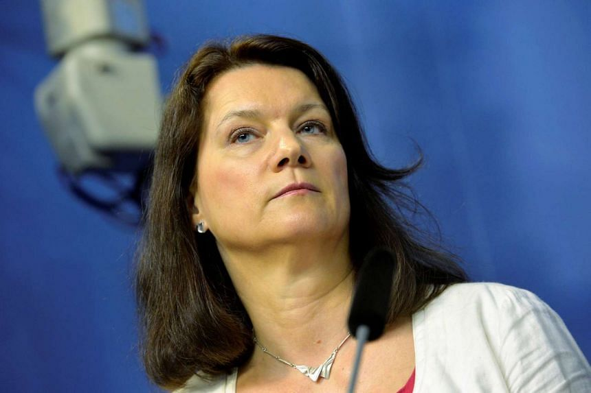 Sweden's Trade Minister Ann Linde attending a news conference in Stockholm, Sweden, in May 2016.