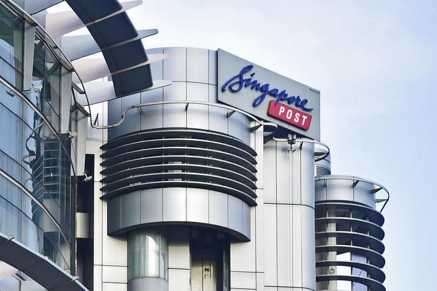 SingPost fell as much as 7.1 per cent to S$1.365 on Monday morning (Feb 13), its lowest since Aug 31.