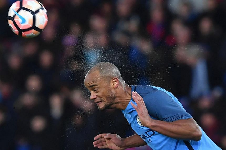 Manchester City skipper Vincent Kompany is hoping to make just his third Premier League start this season against Bournemouth today (Feb 13).