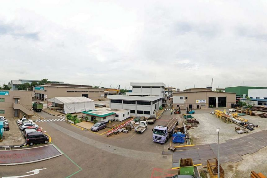 AusGroup has sold its Singapore fabrication facilities at 36 Tuas Road.