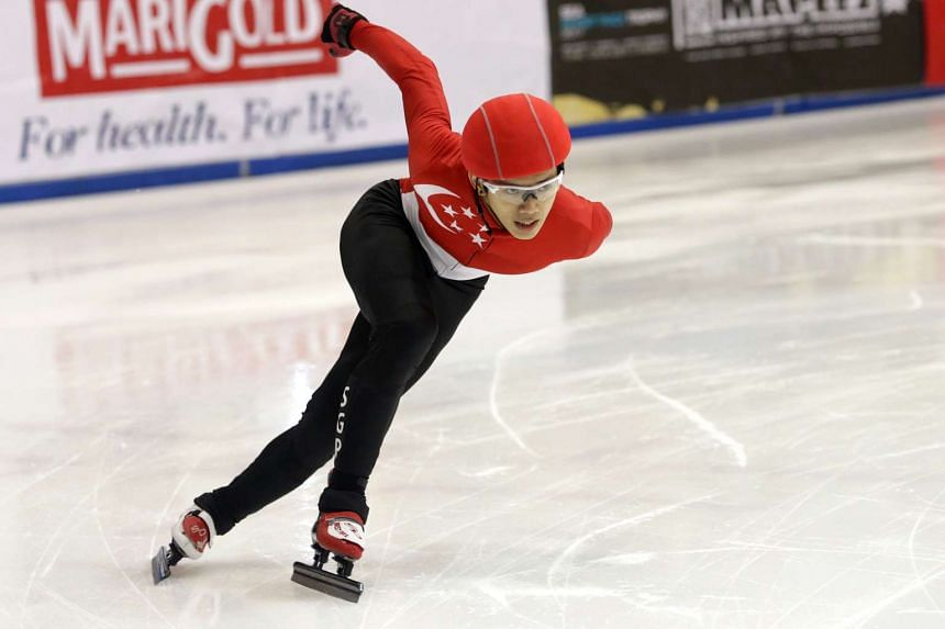 Singaporean speed skater Lucas Ng will be one of the 22 athletes to represent the Republic at the Asian Winter Games in Sapporo this year.