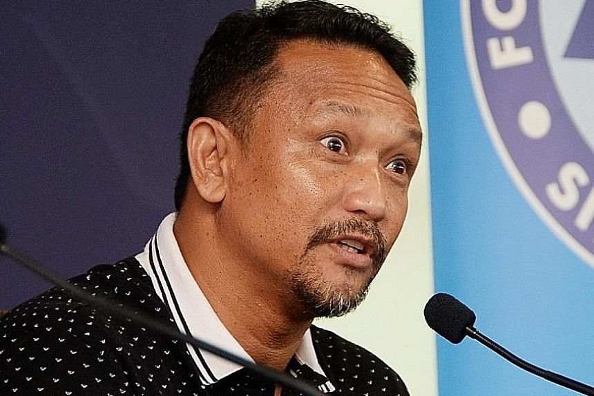 National football head coach of youth Fandi Ahmad is aiming for the SEA Games gold in the 2019 and 2021 editions.