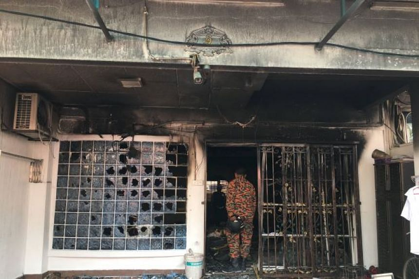 A fire at a house in Kepong claimed the lives of two children and a Cambodian maid.