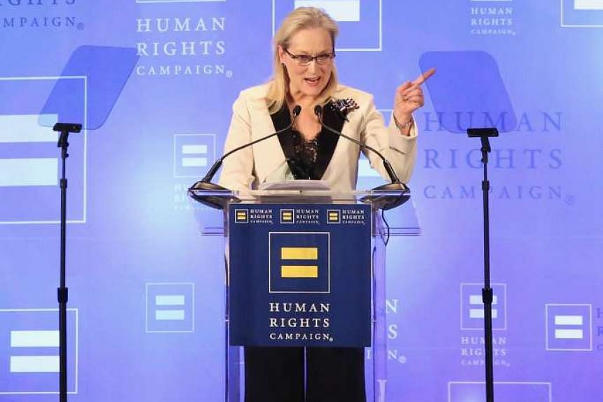 Meryl Streep at the gala in New York.