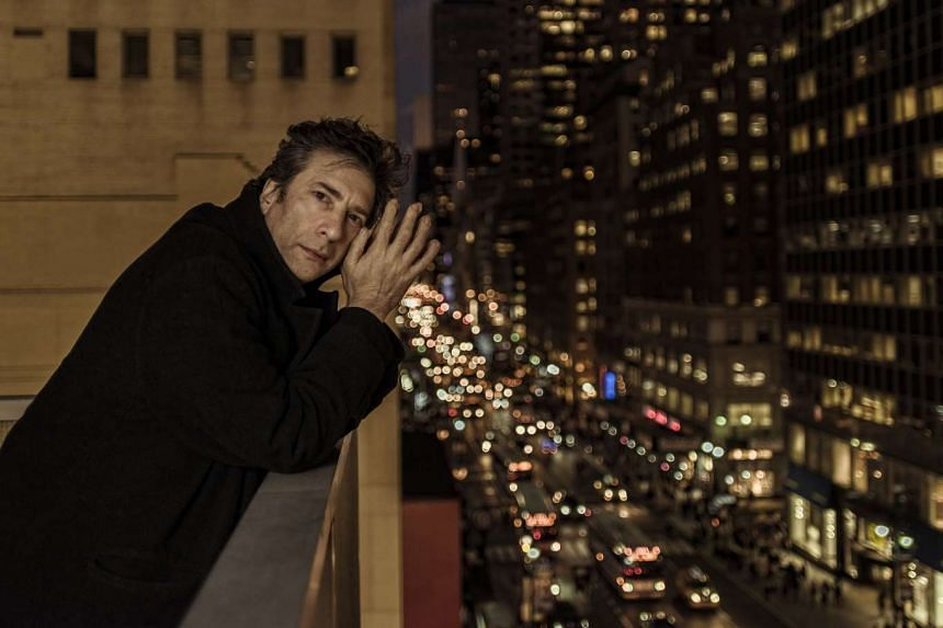 Fans of Neil Gaiman (above) can expect to see his scriptwriting work on the series Good Omens next year.