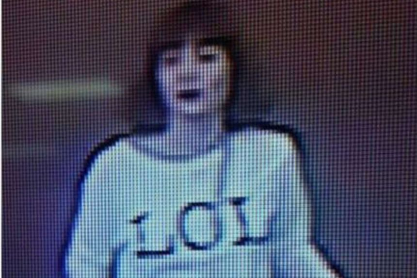 A woman believed to be one of the assassins who killed Kim Jong Nam is seen on CCTV footage from KLIA2.