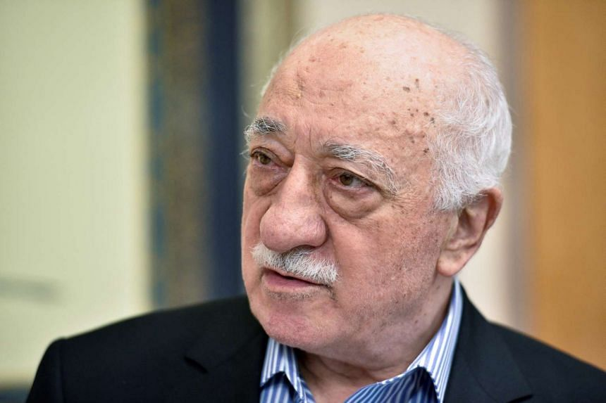 The imams are accused of reporting on Turkish followers of US-based Islamic preacher Fethullah Gulen (above).