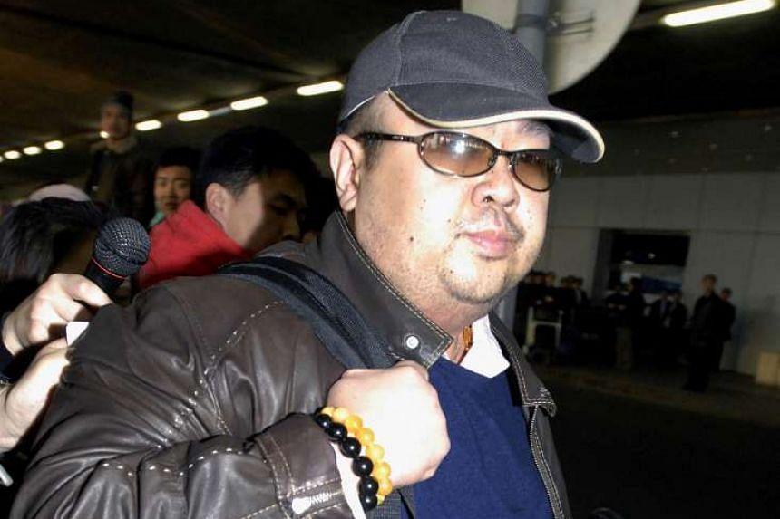 A man believed to be Kim Jong Nam, Kim Jong Un's estranged elder half-brother, photographed at Beijing's international airport in 2007.