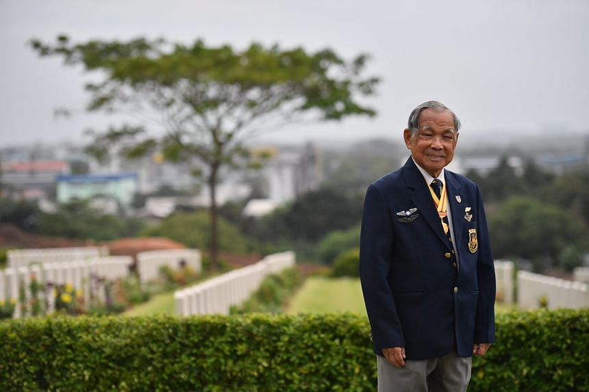 Captain Ho Weng Toh, 96, who flew 18 bombing missions over Japan-occupied China.