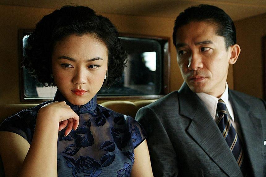 Tony Leung Chiu Wai and Tang Wei (both above).