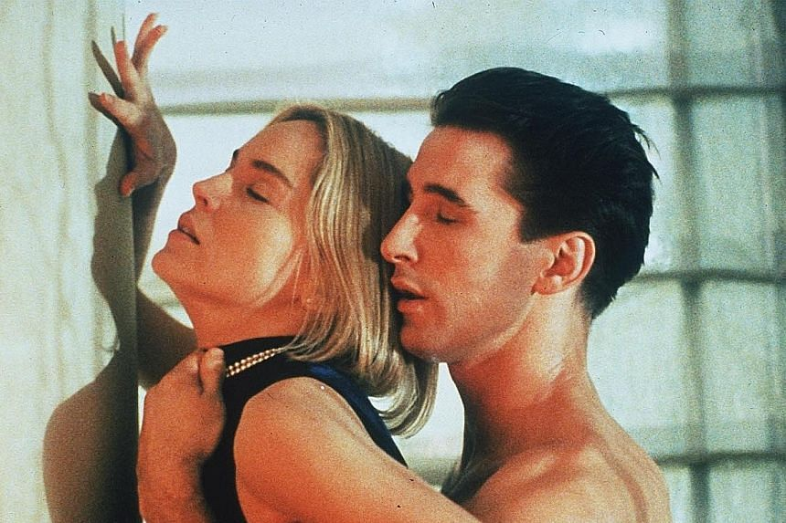 Sharon Stone and William Baldwin (both above).