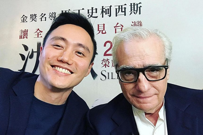 Director Boo Junfeng met Martin Scorsese in Taipei, where the American film-maker was promoting his movie Silence.
