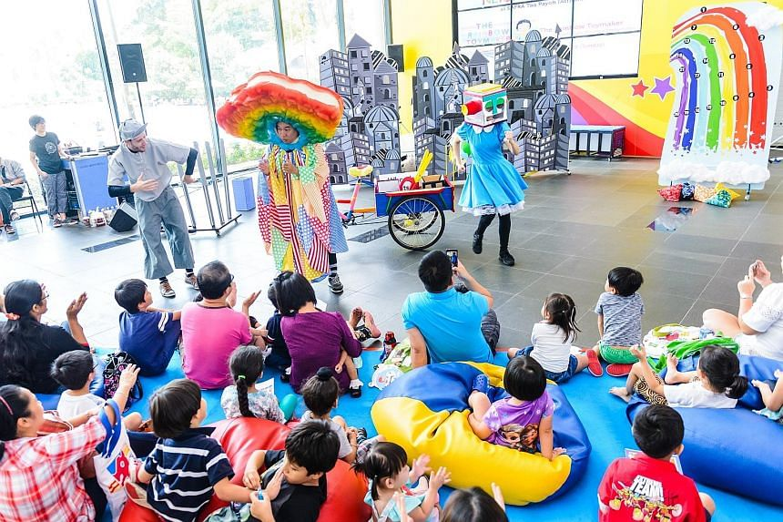 Performances include The Rainbow Toymaker, a children's theatre show by Cake Theatrical Productions.