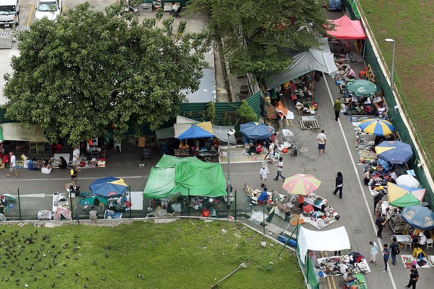The Sungei Road flea market, which began as a small trading spot along the river in the mid-1930s, will become history on July 10 - its last day. The space - the last free hawking zone in Singapore - will make way for future residential developments,