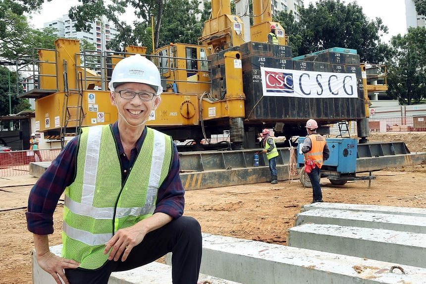 Mr Ang is the founder of S C Ang Consortium, a firm which surveys land for the construction and building industries. By using Global Navigation Satellite System technology to locate and mark the positions of piles at a worksite, the company has reduc