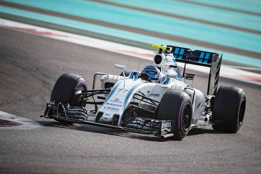 Valtteri Bottas racing for Williams at the Abu Dhabi Grand Prix last year. He will be in a Mercedes this season but predecessor Nico Rosberg feels the team have to look at Sebastian Vettel and Fernando Alonso as options to take over the wheel next season.