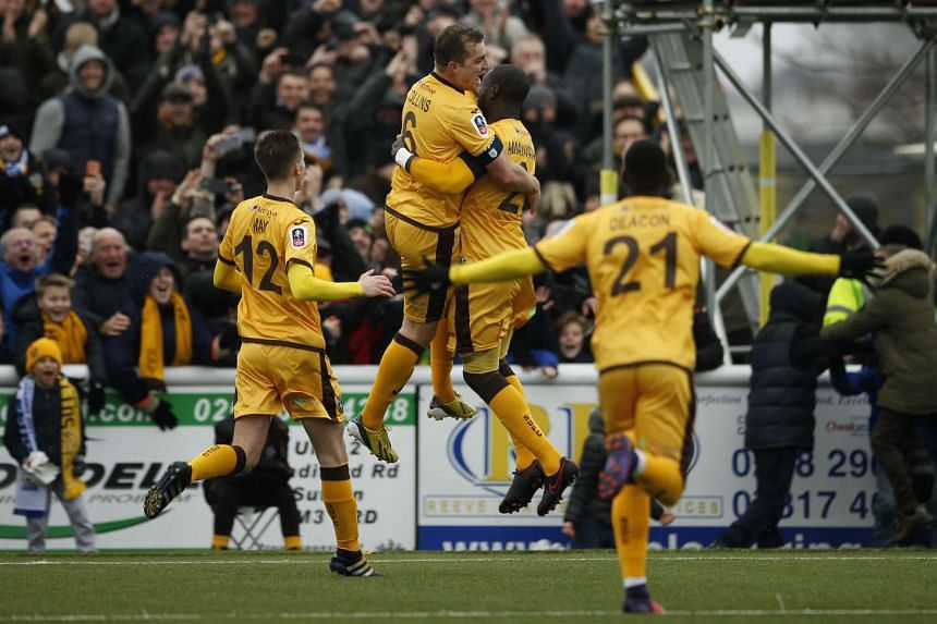 Sutton United will host 12-times winners Arsenal in the fifth round of the FA Cup on Monday (Feb 20).