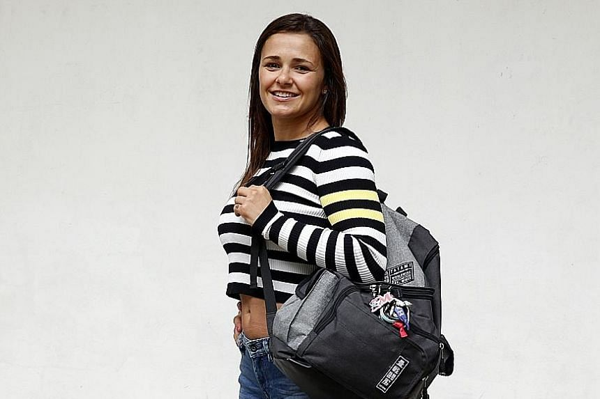 Michelle Nicolini took part in her first One Championship competition last November and won.