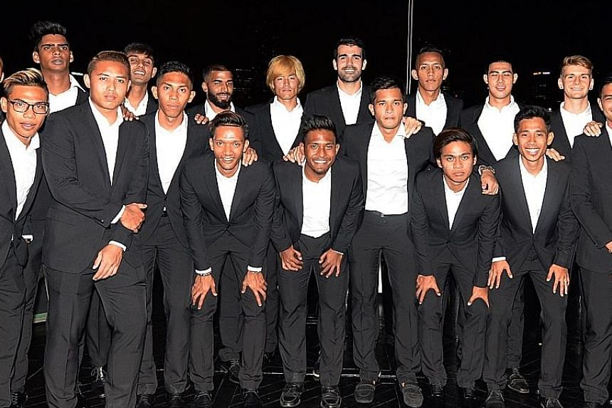 Players will wear black suits for overseas games and for matches that will be telecast live from Jalan Besar.
