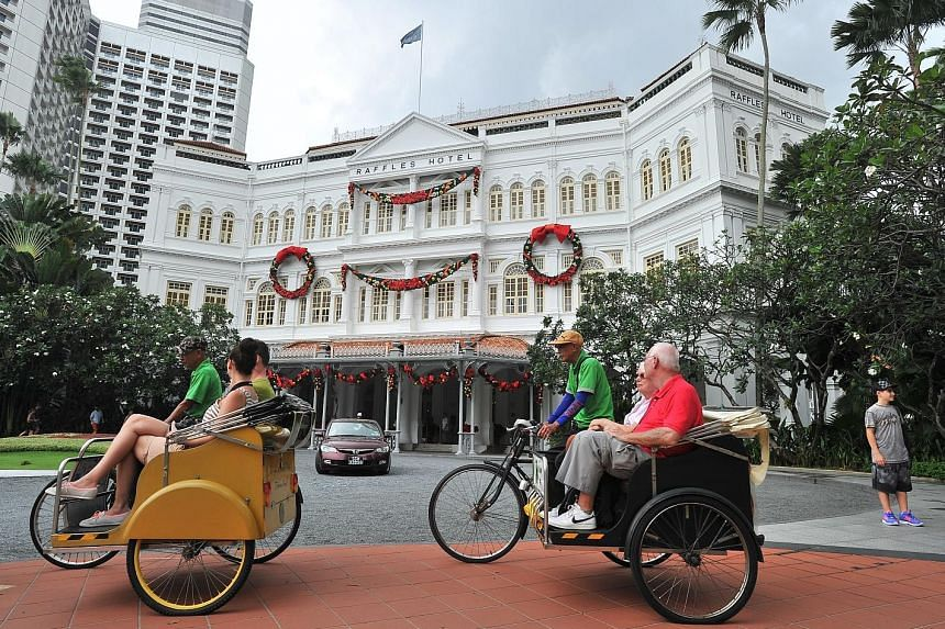 Due to a surge in supply of hotel rooms last year, the average occupancy rate dropped 0.9 percentage point to 84.2 per cent. However, the decline was less than expected due to last year's record number of tourist arrivals.