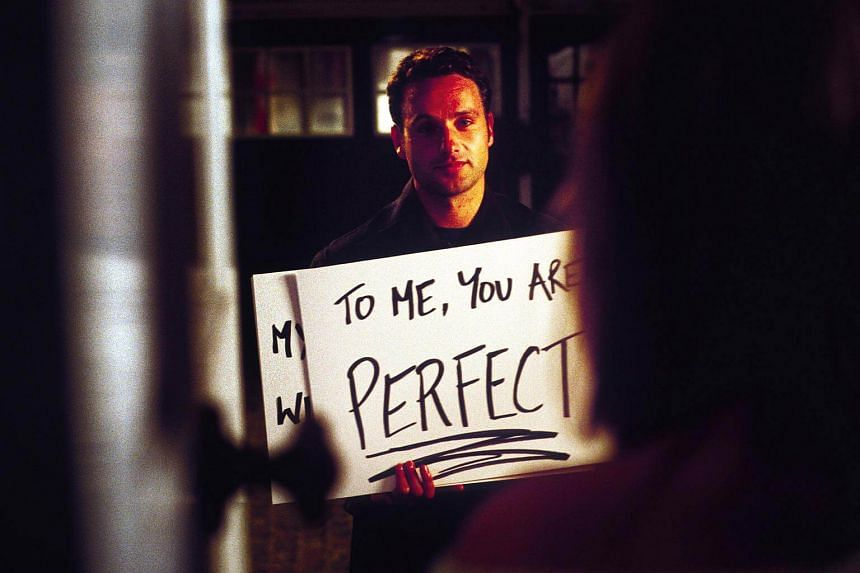 Cinema still from the film Love Actually.