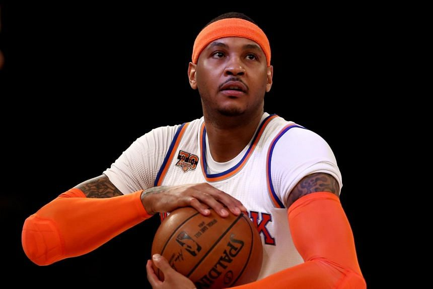 New York Knicks forward Carmelo Anthony will be replacing the injured Kevin Love at the NBA All-Star Game.