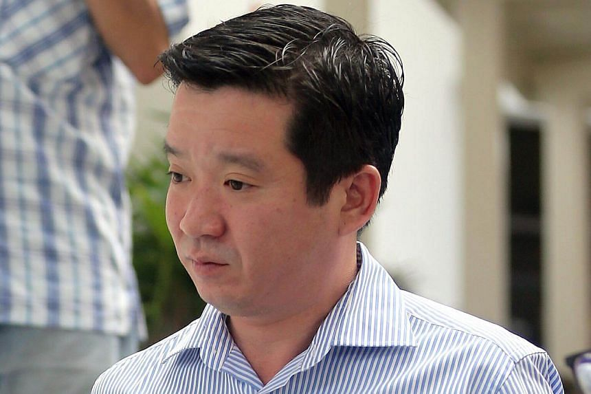 Howard Shaw Chai Li, arriving at the State Courts.
