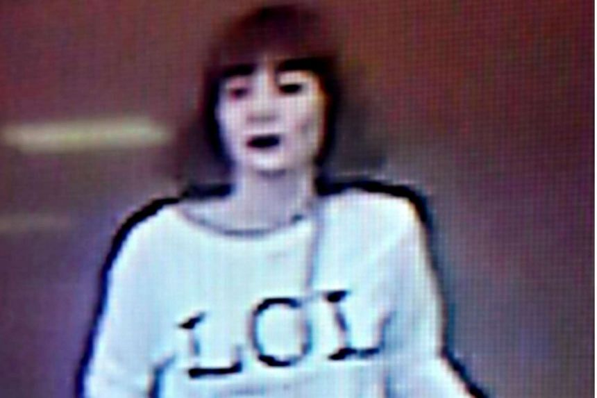 A CCTV image of a woman believed to be one of the assassins who killed Mr Kim Jong Nam.