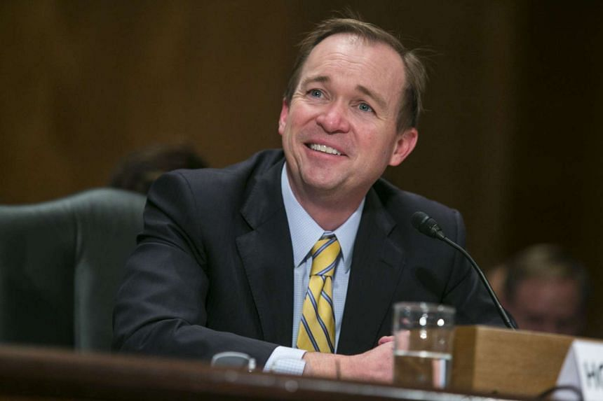 Mulvaney (above) was confirmed as director of the Office of Management and Budget by a vote of 51 to 49.