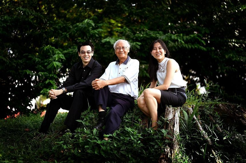 SSTA, which turns 10 next week, is led by a core team, including (from left) Mr Jonathan Hung, National Research Foundation adviser Lui Pao Chuen and Ms Lynette Tan, who are passionate about developing the space technology industry here. It is organi