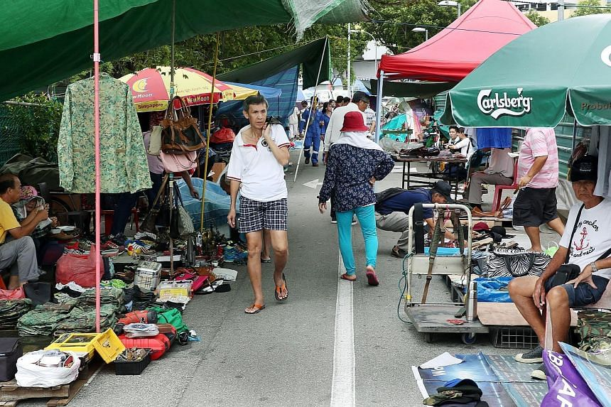 """The Sungei Road flea market, which has been around for about 80 years, will cease to exist come July. Singapore's last free hawking zone will be prepared """"to facilitate future residential development use""""."""
