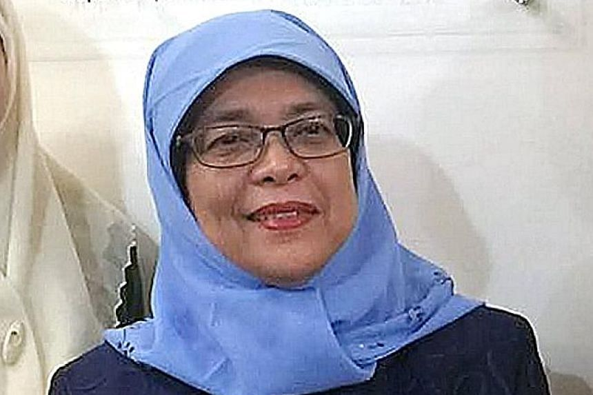 """The Government """"cannot and should not single-handedly create harmony or shape our future"""", said Madam Halimah."""