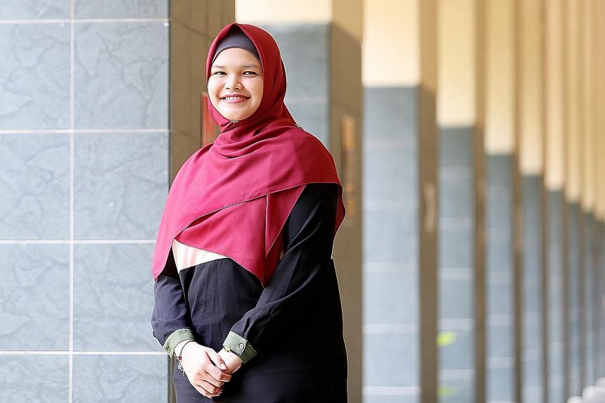 Ms Hafizah is pursuing a master's in applied psychology and hopes to be an education psychologist after she graduates.